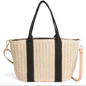 NWT Braidy Woven Tote
